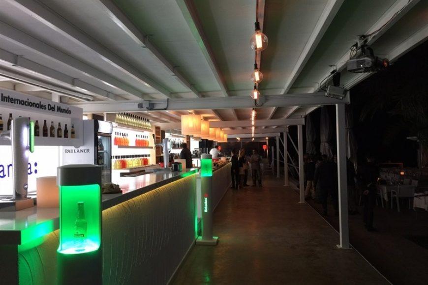 Soluciones Compoplak: Reforma integral de discoteca (II) Barras de discoteca