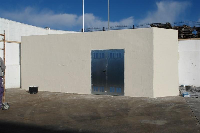 Soluciones Compoplak: Construcción exprés almacén de residuos