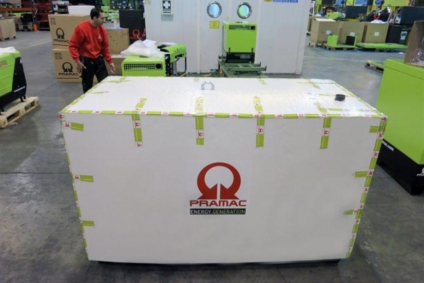 Valero desarrolla un embalaje de gran formato para Pramac Ibérica