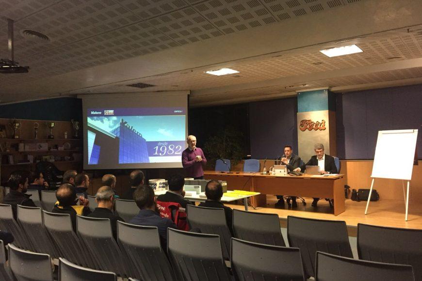 """Jornada de Formación """"Aislamiento térmico para la construcción y rehabilitación"""" impartida por Valero para Ferri Villena"""
