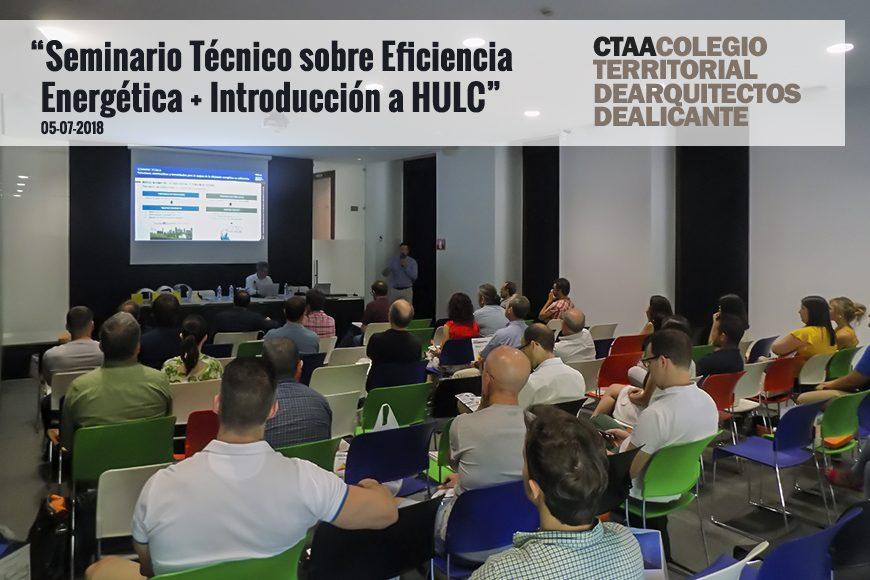 Éxito de participación en el seminario impartido por Valero en el Colegio Territorial de Arquitectos de Alicante