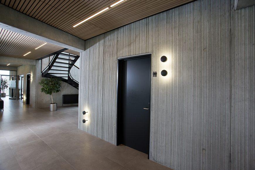 """Oficinas texturizadas con LHV de Valero, nominadas para el """"Danish In-Situ price 2019""""."""