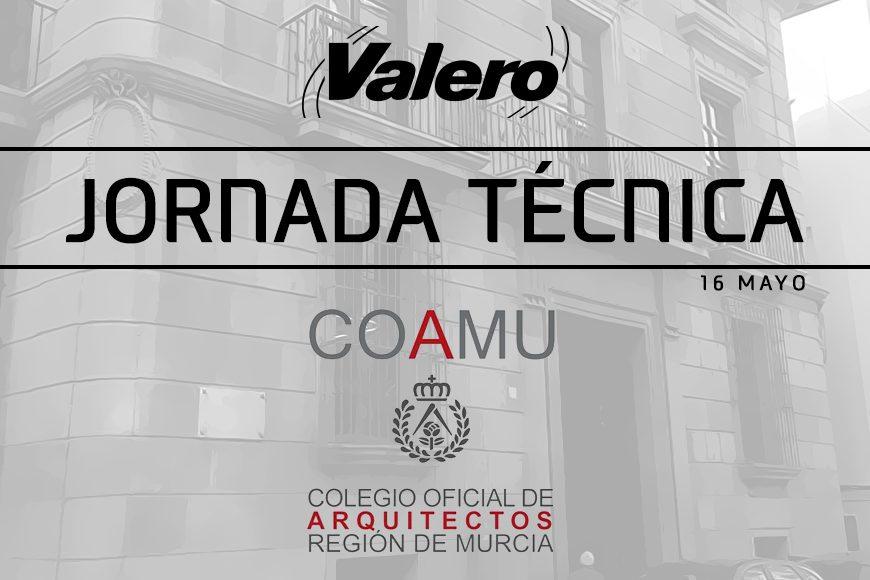Próximo seminario impartido por Valero en el Colegio Oficial de Arquitectos de la Región de Murcia