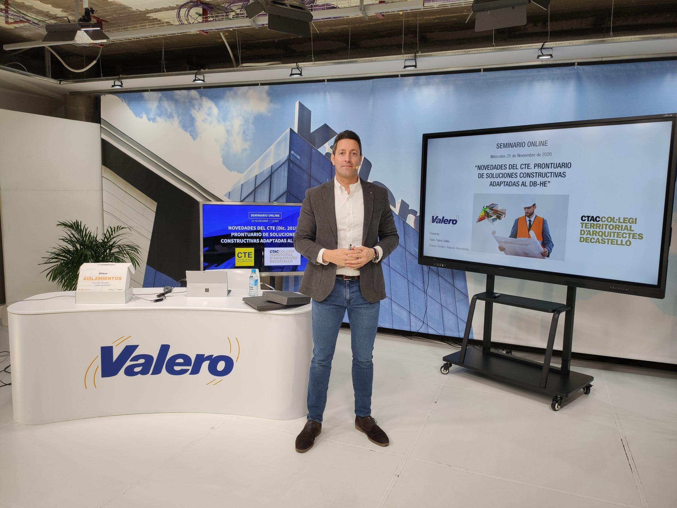 Próximos seminarios web para los Colegios de Valencia, Madrid y Murcia