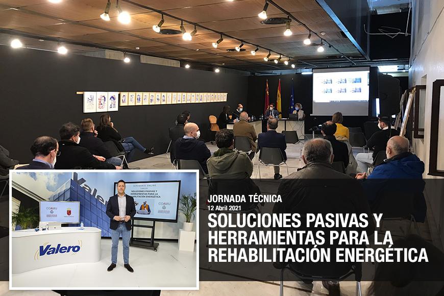 """Valero participará en el ciclo de formación """"Rehabilitación de edificios, regeneración urbana y gestión y tramitación de ayudas""""."""